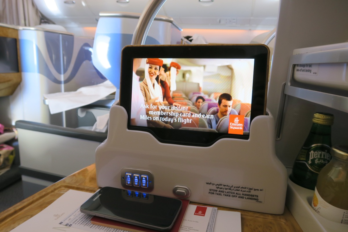 EMIRATES Business Class // SYD > CHC