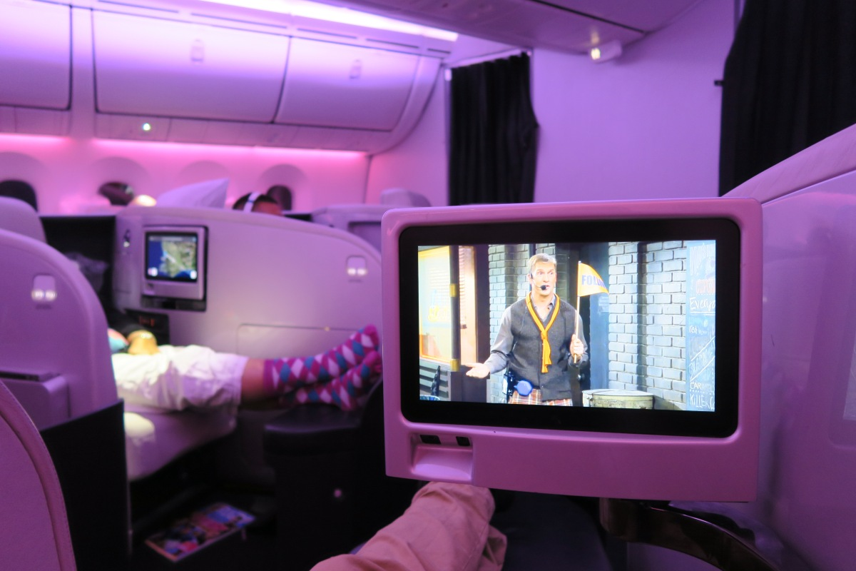 AIR NEW ZEALAND Business Premier // PER > CHC